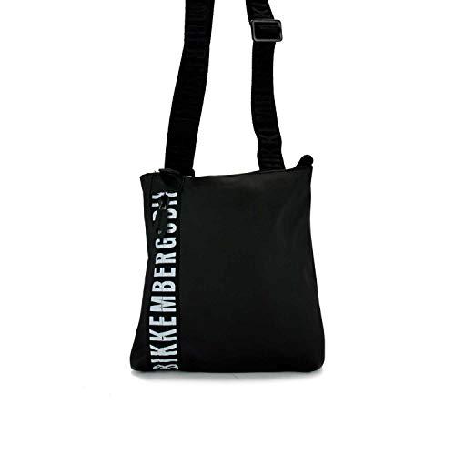 Bikkembergs E91PME170042999 - Bolso bandolera para hombre, color Negro, talla Einheitsgröße