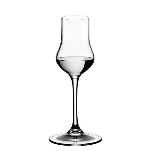 RIEDEL 6416/17 Vinum Spirituosen, 2-teiliges Spirituosenglas Set, Kristallglas