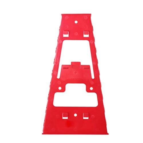 TShopm Schraubenschlüssel-Halter aus Kunststoff mit Ablage und Schraubenschlüssel
