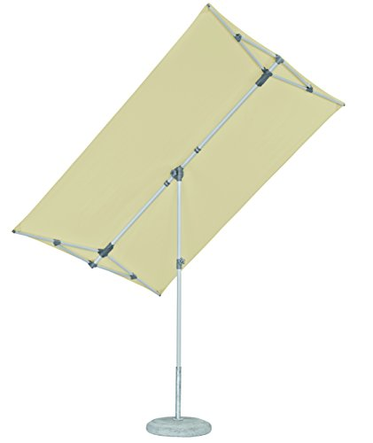 Suncomfort by Glatz Flex-Roof, ecru, 210x150 cm rechteckig, Gestell Stahl, Bespannung Polyester, 5.3 kg -