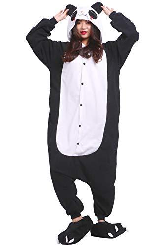 Kostüm Roter Kigurumi Panda - Pyjamas Schlafanzug Erwachsene Cosplay Kostüm Karneval Halloween Rote Tränen Panda