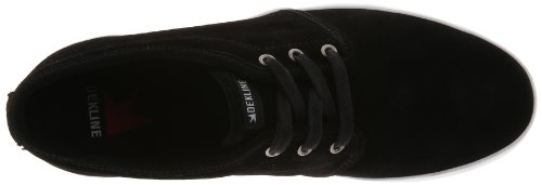 Dekline River 602623-1 Unisex - Erwachsene Sportschuhe - Skateboarding Schwarz (Black/White)