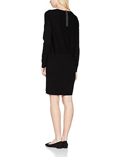 Q/S designed by, Vestito Donna Nero (black 9999)