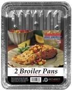Broiler Pan (2) by Handi-foil -
