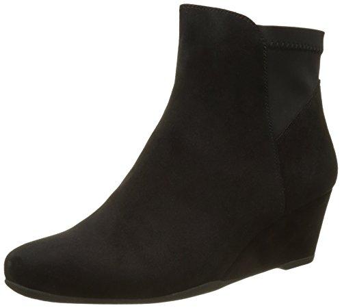Suede Nero Goat Emily 13 Boots Schwarz Damen black Stonefly Chelsea qISvTT