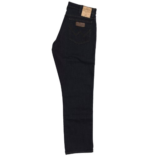 Wrangler Herren Texas Stretch Jeans BLAU-SCHWARZ