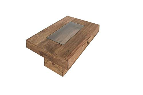 MASSIVMOEBEL24.DE Kolonialstil Massivmöbel Sheesham grau Couchtisch 60x90 Palisander geölt massiv Holz LEEDS #20