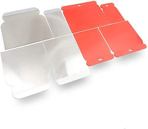 rokkel® Japanspachtel Set - flexible Blätter aus rostfreien Edelstahl sowie Kunststoff zum glätten und abziehen