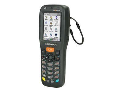 Datalogic 944250004 - MEMOR X3 MOBILE COMPUTER - Memor X3, 802.11 a/b/g/n CCX V4, Bluetooth, 256 MB RAM/512 MB Flash, 806 MHz, 25-key Numeric, Laser with Green Spot, Windows CE Pro 6.0 -