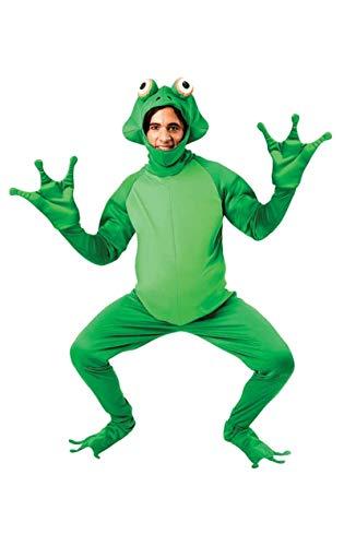 Märchen Mann Kostüm - Orion Costumes Lustiger Frosch Overall Kostüm grün XL