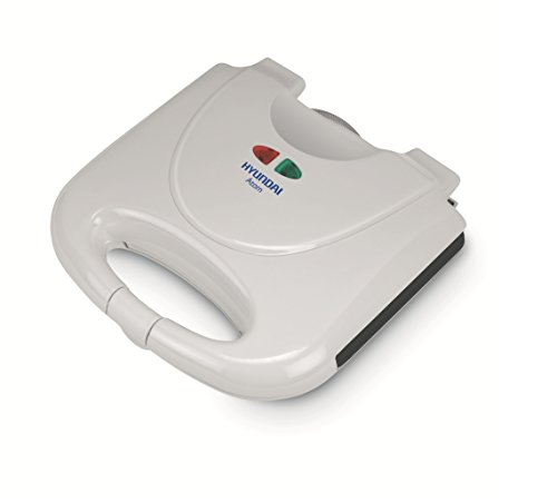 Hyundai Atom HTA02WSP-DBH Sandwich Maker (White)