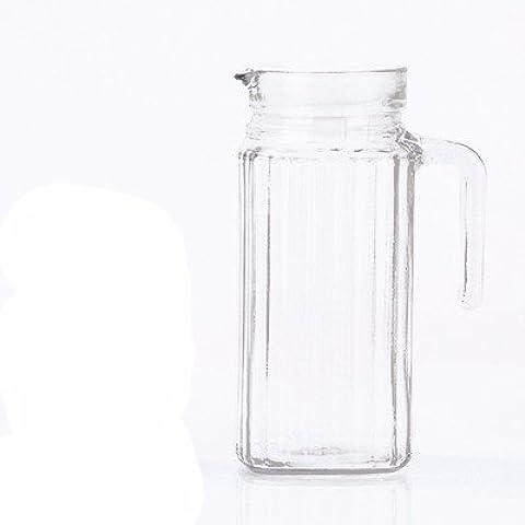 La capacidad máxima se jugo frío botella de agua helada jarra de agua resistente a alta temperatura de agua domésticos jarra hervidora tetera