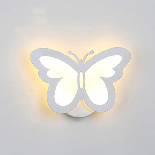 LEDMOMO Lámpara de pared moderna del LED, iluminación creativa de la pared de la mariposa...