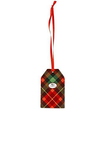 Hutschenreuther Cozy Winter Anhänger Schild Kardinal 7, 5 cm Rot/Grün