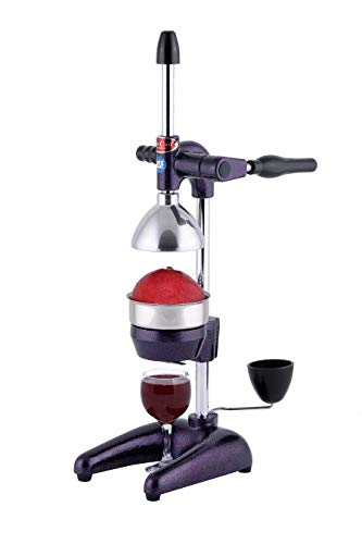 Can Can Commercial Juice Press for Pomegranates, Oranges, Grapefruits (Purple