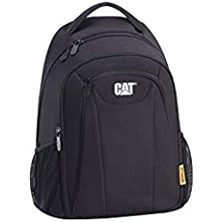 Caterpillar 83479 – 01 Cat Laptop Mochila – Cuadernon Tools, SW, Negro, L/B/H: 39, 5/14/28, volumen: 18 l