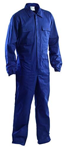 P&P Tuta Blu con Elastico ai Polsi - 100% Cotone Massaua (XL)
