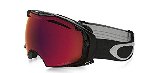Oakley Airbrake Skibrille/Snowboardbrille Jet one Size Jet Black Prizm Torch Iridium/Prizm Sapphire Iridium