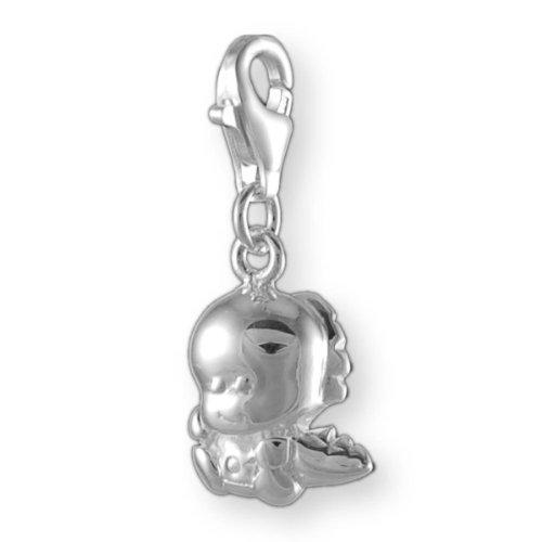 Melina Damen-Charm Anhänger Baby Drache 925 Sterling Silber 1800723