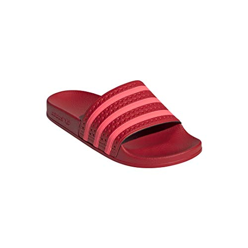 Scarlet Damen Schuhe (adidas Damen Adilette W Aqua Schuhe, Mehrfarbig Flash Red/Scarlet Ee6185, 40 2/3 EU)