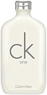 Calvin Klein CK One for Unisex, Eau de Toilette, 200 ml