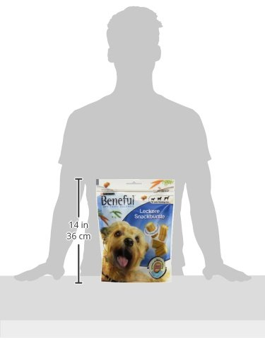 Beneful Leckere Snackbürste Hundesnack, Milch und Calcium, 6er Pack (6 x 130 g) - 4