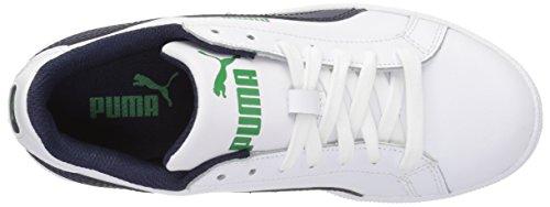 Puma Smash Fun L Jr Synthétique Baskets White-Peacoat