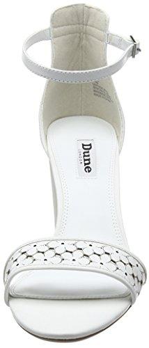 Dune - Millee, Scarpe col tacco con cinturino a T Donna Bianco (Bianco (White))