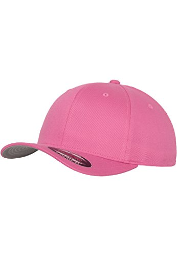 MasterDis Baseball Cap Flexfit Herren Flexfit Cap Pink (Pink Tee Baseball)