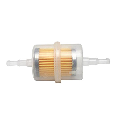 MagiDeal 6mm 8mm Motorrad Kraftstoff Benzin Filter Benzinfilter Innenraumluftfilter