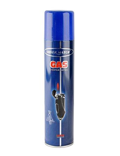 Bomboletta gas butano ricarica accendini 300 ml