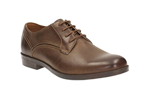 Clarks Brocton Walk, Derby Homme Marron