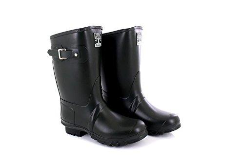 Woodland Unisex Short Neoprene Adjustable Strap Wellingtons Boots