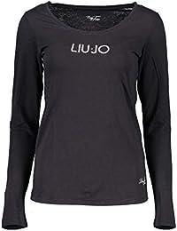 Liu Jo WXX017 JC231 T-Shirt Maniche Lunghe Donna 6f400513970