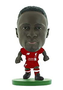 SoccerStarz SOC1312 Liverpool Naby Keita Home Kit (2019 Version)/Figuras, Verde