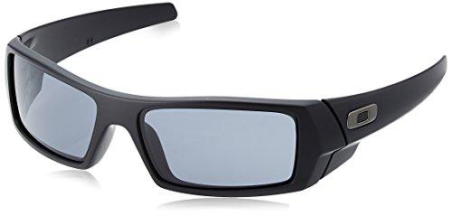 Oakley Herren Sonnenbrille Gascan, matt schwarz/grau, 03-473 -