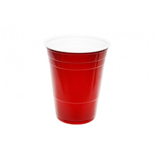 Red Solo Cup - Party Plastic Cup - Plastikbecher - 16oz / 473ml - 25 Stück