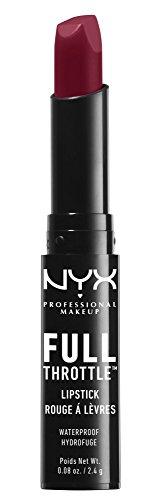 Nyx Professional Makeup Full Throttle Lipstick, Locked, 2.4g