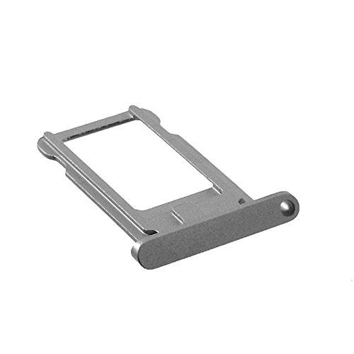 jbTec® SIM-Tray #S82 zu Apple iPad Air/iPad Pro 12,9' / 9,7' - Karten-Halter Rahmen Schlitten Telefonkarte, Farbe:Grau, Modell:Apple iPad Air