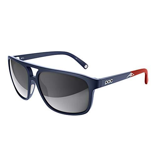 POC Unisex- Erwachsene WILL8021 Sonnenbrille, Lead Blue, GWM