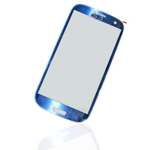 msung Galaxy S3 I9300 i9301 LTE SIII Front Scheibe Touch Screen LCD Window blau ()