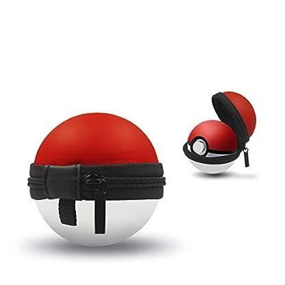 Zinniaya Estuche portátil para Poke Ball Plus Controlador Pokémon Protector Duro Portátil Bolsa de Viaje Pokeball Bolsa para Nitendo Switch