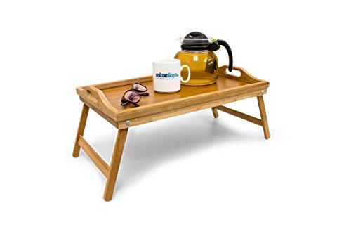 Bambus Frühstückstablett Bett Tablett Serviertisch Holz