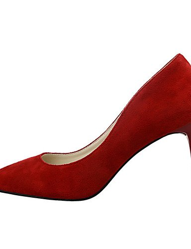 WSS 2016 Chaussures Femme-Extérieure / Bureau & Travail / Soirée & Evénement-Noir / Rose / Rouge / Gris / Orange / Bordeaux-Talon Aiguille-Talons black-us8 / eu39 / uk6 / cn39