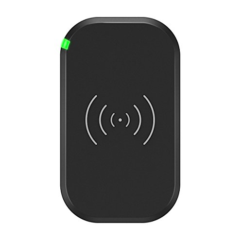 Choetech Qi Certified 7.5W Wireless 3 Coil Fast Wireless Charging Pad Compatible with All Qi Enabled Phones