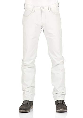 Lee Herren Relaxed Fit Jean (Lee Herren Jeans Daren Zip Fly - Regular Fit - Weiß - Off White, Größe:W 31 L 32, Farbe:Off White (64))