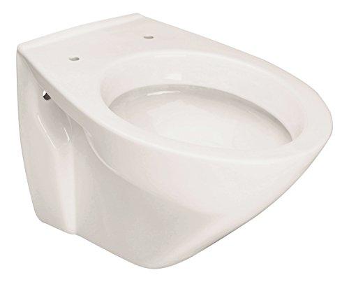 Wand-WC Picco   Tiefspüler   Weiß   Mit spezieller Nano-Oberflächenstruktur   Hygiene   Toilette   Klo   Bad   Badezimmer   Keramik   Gäste-WC   Hänge-WC