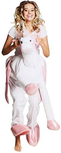 inhorn für Erwachsene, ideal für Fasching, Karneval, Halloween oder Junggesellenabschied (01 Stück - Kostüm Einhorn) ()