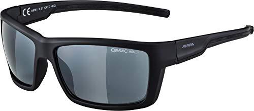 Alpina Sonnenbrille Sport Style SLAY Black matt, One Size