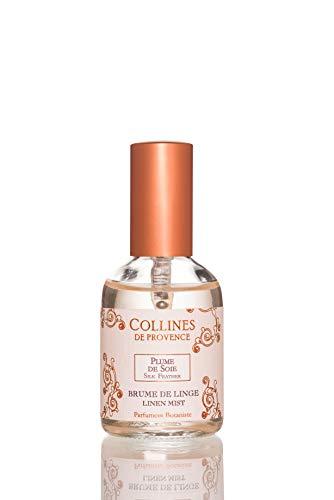 Collines de Provence Brume de Linge 50ml Plume de Soie, Transparent 4 cm x 4 cm x 9,7 cm